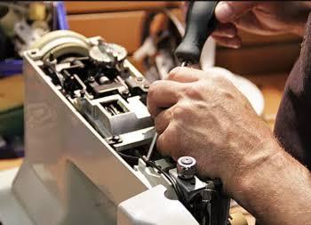 réparation de machine à coudre
